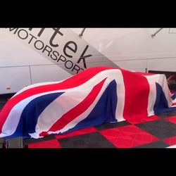 Union Jack Reveal Indoor Car Cover for Aston Martin, Bentley & McLaren