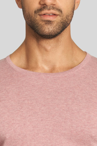 Lilac Crew Neck Cotton Sweater