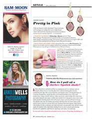 Urban Posh Earrings in Austin Monthly Magazine
