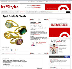Urban Posh Stacking Rings on InStyle.com