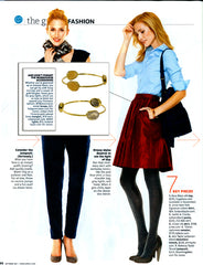 Urban Posh Gold Stacking Bangles in Real Simple Magazine