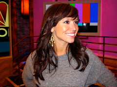 Sara Gore wearing Urban Posh Chandler Earrings