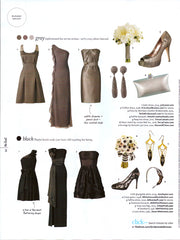Urban Posh Trinity Earrings in the knot magazine