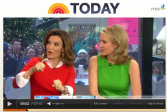 Urban Posh Robyn Earrings on the Today Show
