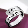 """I Am Enough"" Ring™"