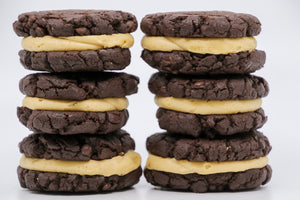 Chocolate Peanut Butter Chip Cookie Sandwich 6 Pack