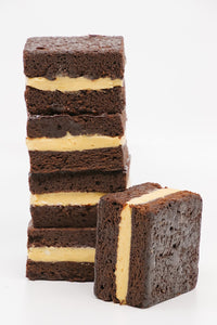 GF-V Peanut Butter Brownie Sandwich 5 Pack