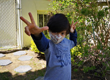 Load image into Gallery viewer, Face Masks for KIDS - Made of 100% Cotton and Love - Support Local Crafts