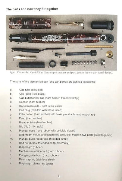 Swan Visofil Pen Repair Manual