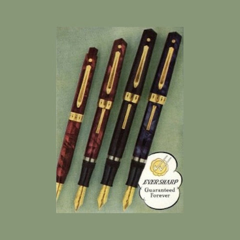Eversharp Hard Rubber and Plastic