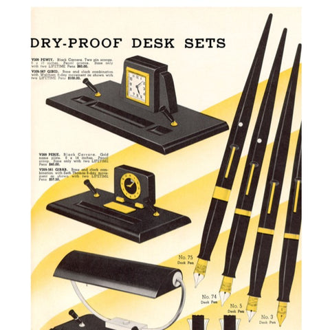 Sheaffer Desk Sets