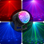 Rotating RGB Party Lights