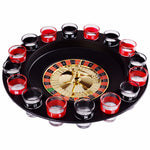 Drunk Roulette Novelty Game (16 Shot Glasses Included)