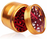 Multicolor Lightning Alloy Herb Grinder