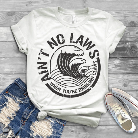 Aint No Laws Vintage Women's T-Shirt