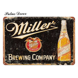 Metal Vintage Beer Signs
