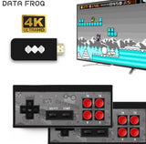 DATA FROG Wireless Retro Gaming Console (600 Games Built-In)
