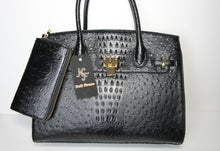 "Load image into Gallery viewer, ""NF Faux Croc"" Handbag & Wallet"