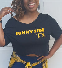 "Load image into Gallery viewer, ""Sunnyside"" Crop Top"