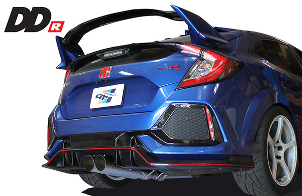 GREDDY DD-R EXHAUST - CIVIC TYPE R 17-19
