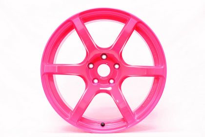 Gram Lights 57C6 / 17x9 / 5x100 / +40mm Offset - Luminous Pink