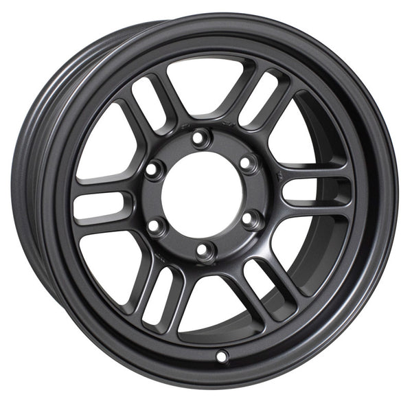 Enkei RPT1 16x8 6x139.7 Bolt Pattern +0 Offset 108.5 Bore Matte Dark Gunmetallic Wheel