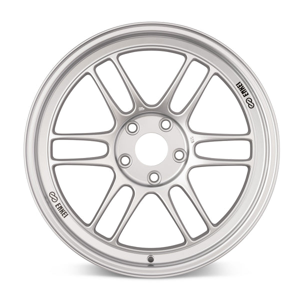 Enkei RPF1 / 18x9.5 / 5x114.3 / +15mm Offset / 73mm Bore - Silver