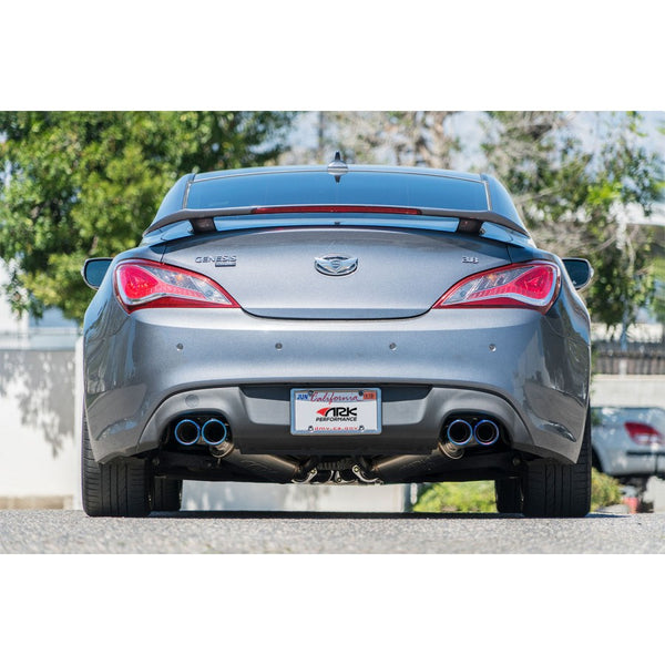 ARK GRIP EXHAUST: GENESIS COUPE 3.8L 2010-16 (POLISHED TIP)