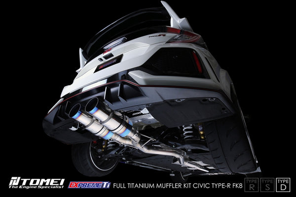 "Tomei Expreme Ti Full Titanium Exhaust ""Type-D"" 