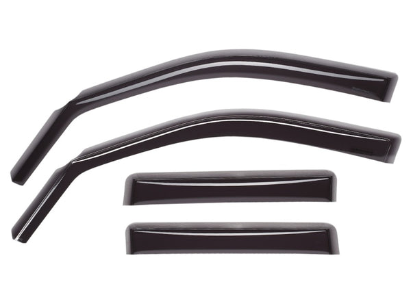 WeatherTech 96-99 Toyota 4Runner Front and Rear Side Window Deflectors - Dark Smoke