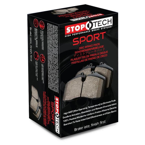 StopTech Performance 00-09 S2000/06+ Civic Si/02-06 RSX-S(Type S) Front Brake Pads