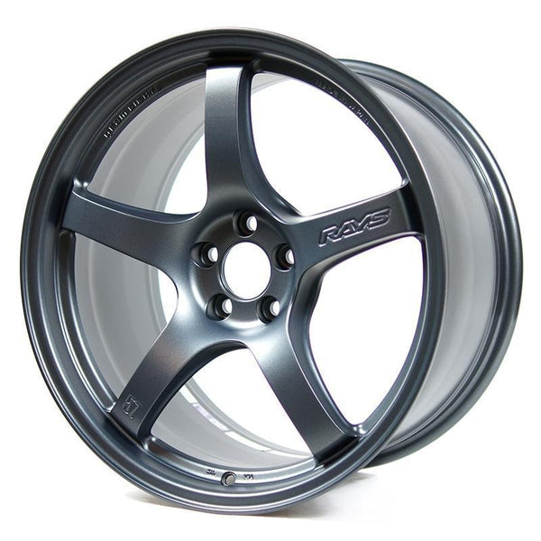 Gram Lights 57CR / 18X9.5 / 5x114.3 / +22mm Offset - Gun Blue 2