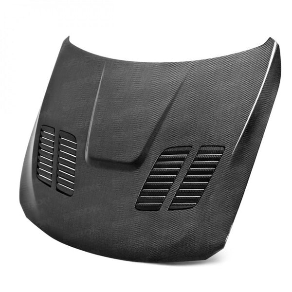 GTR-STYLE CARBON FIBER HOOD FOR 2012-2020 BMW F30 3 SERIES / F32 4 SERIES