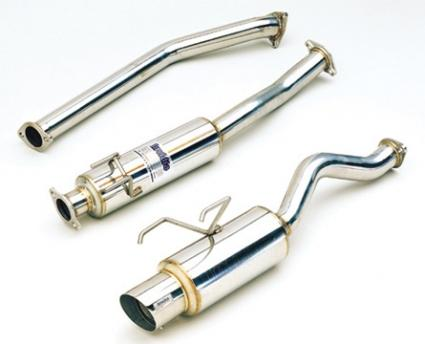 INVIDIA N1 EXHAUST: RSX TYPE-S 02-06