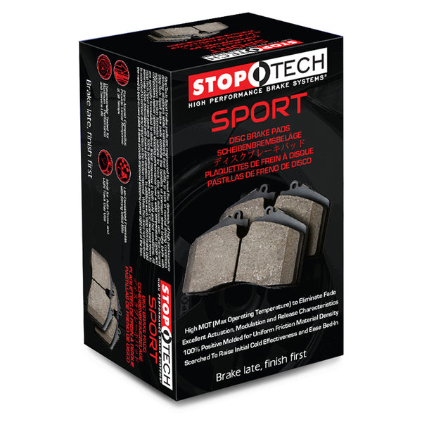 StopTech Performance 00-09 Honda S2000 / 92-07 Accord / 04-10 Acura TSX / 02-06 RSX Rear Brake Pads