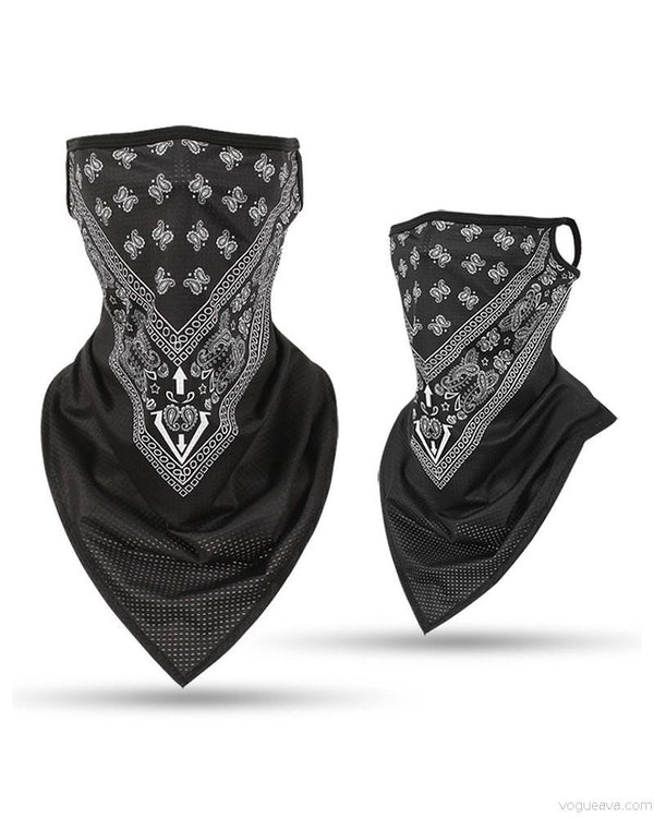 Print Face Bandana Magic Scarf Headwrap Balaclava