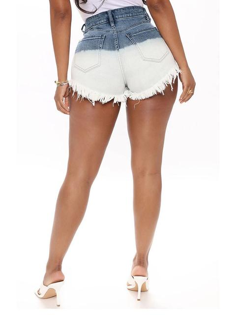 Vintage Denim Slim Shorts