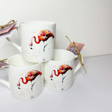 Load image into Gallery viewer, Flamingo Bone China Mug