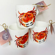 Load image into Gallery viewer, Crab Bone China Mug