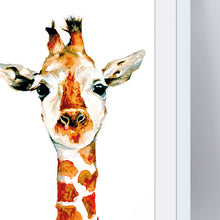 Load image into Gallery viewer, Giraffe A4 Print