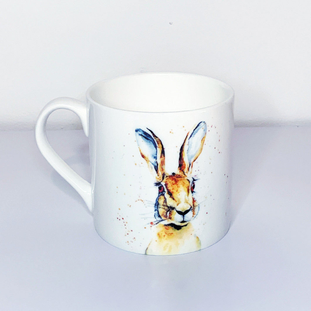 Hare Bone China Mug
