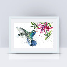 Load image into Gallery viewer, Hummingbird A4 Print