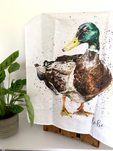 Load image into Gallery viewer, Duck Tea Towel
