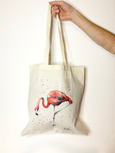 Load image into Gallery viewer, Flamingo Tote Bag