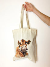 Load image into Gallery viewer, Cow Tote Bag