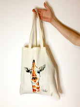 Load image into Gallery viewer, Giraffe Tote Bag