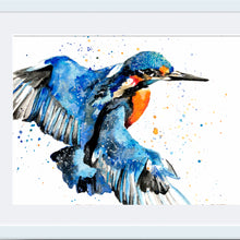 Load image into Gallery viewer, Kingfisher A4 Print