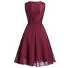 Robe Rockabilly Cerise de Dos