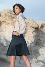 Load image into Gallery viewer, Yves Saint Laurent Navy Style Skirt