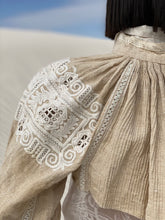 Load image into Gallery viewer, Antique European Folk Hand Embroidered Bolero Top